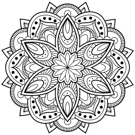 free mandala coloring pages for adults coloring pages mandala coloring pages