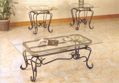 Coffee Table, Glass And Rod Iron Coffee Tables Wrought Iron Glass Coffee Table: Inspiration