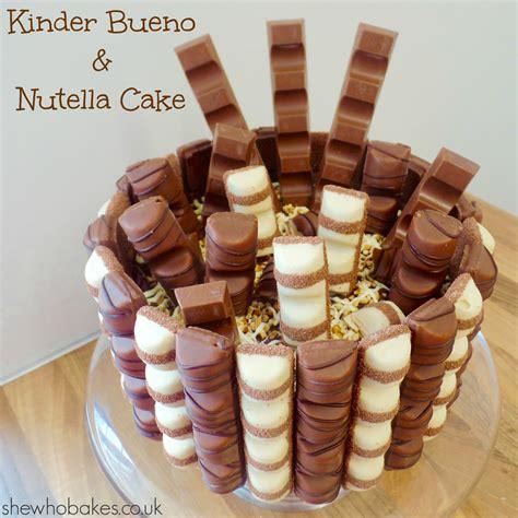 kinderbueno kuchen kinder bueno nutella cake she who bakes