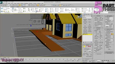 Home Design Exterior Free 3ds Max Exterior Modeling A Complete House Part 5 P3