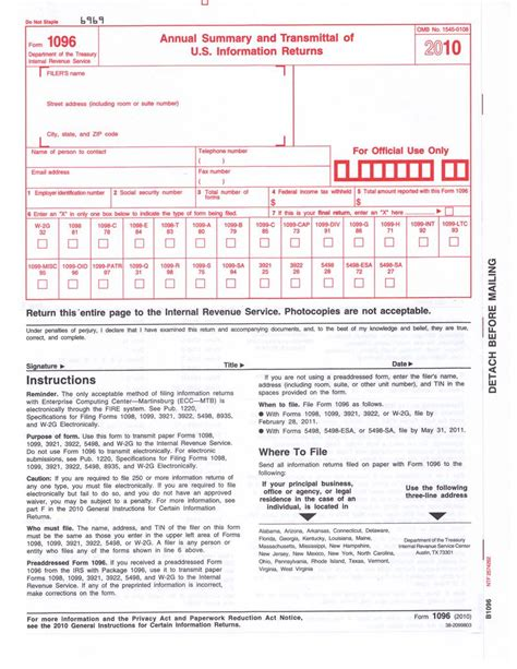 irs form 1096 template antagonist placeholder