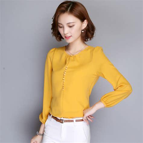 Blouse Korea blouse korean lace henley blouse