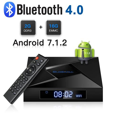 half android android tv box 7 1 2 globmall 2018 model x4 android tv box 2gb ram 16gb rom amlogic