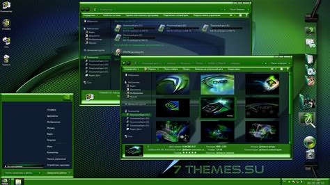 theme google chrome nvidia тема quot nvidia ultimate quot для windows 7