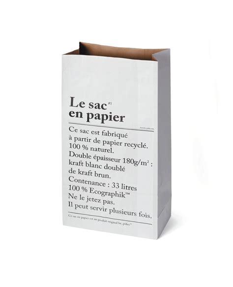 papier le leo le sac en papier the paper storage bag