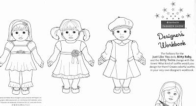 worry doll coloring page coloring pages for bitty babies american girl modern