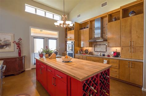 kitchen island red 8 multinational and modern kitchen island design ideas