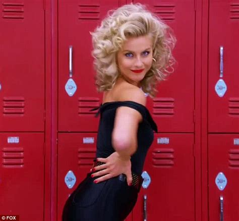julianne hough as sandy the best and worst of grease live the odyssey