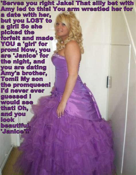 sissy feminized by aunt 17 images about tg captions prom on pinterest sissi a
