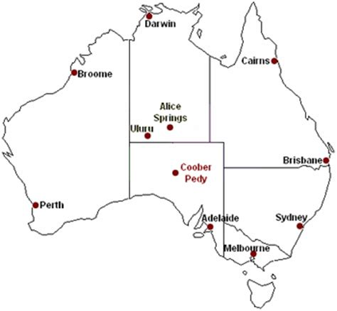 australia map printable coober pedy map overview and detailed interactive and