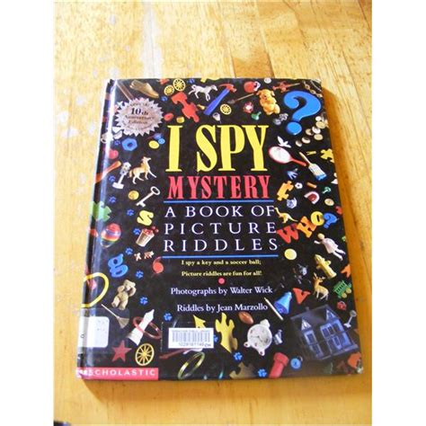 i mystery a book of picture riddles indoor activities for using i books