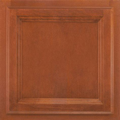 American Cabinet Doors American Woodmark 13x12 7 8 In Cabinet Door Sle In Ashland Maple Cognac 99922 The Home Depot