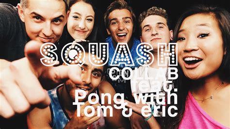 boston tom squash collab boston tom 4n1 fear pong challenge youtube
