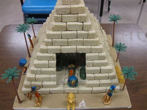 pyramid craft project school project pyramid school project http