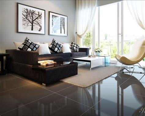 living room with black furniture modern living room black sofa living room