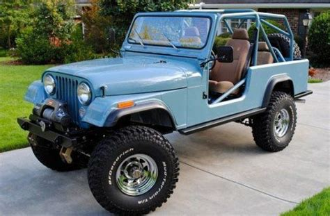 Cj8 Powder Blue And Colors