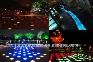 Colored Led Landscape Lighting Wholesale Blue Floor Tiles Low Voltage Landscape Led Brick Light Tempered Glass Alibaba