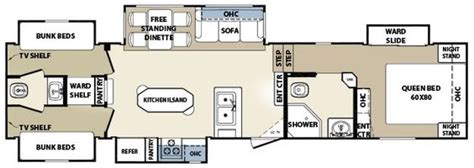 2007 montana 5th wheel floor plans 2007 montana fifth wheel floor plans search cing montana wheels and