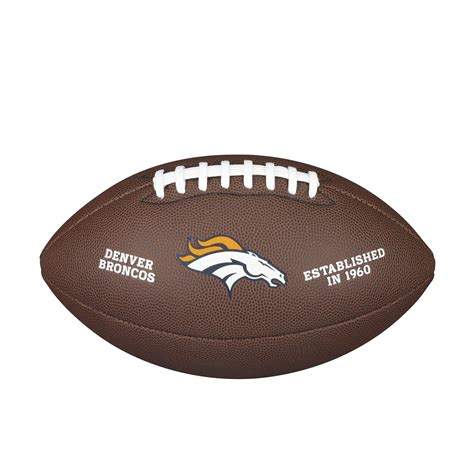 Accessories Football wilson wtf1748xb nfl licensed american football