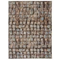 nourison overstock modesto squares beige 7 ft 10 in x 10