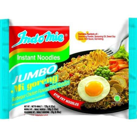 Indomie Goreng Jumbo by Tokogembira Indomie Jumbo Mi Goreng Barbeque Chicken