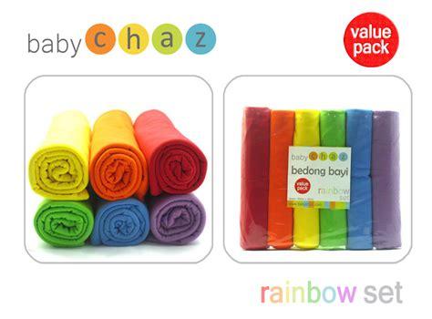Bedong Bayi Motif Rainbow Pelangi bedong bayi baby chaz rainbow babyshop