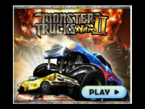 monster trucks nitro monster truck nitro 2 free online games