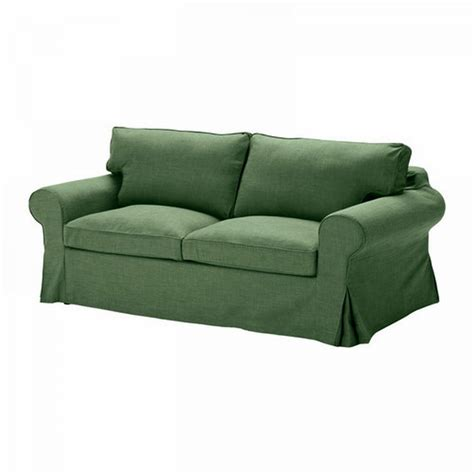 Sofa Bed Slip Cover Ikea Ektorp Sofa Bed Slipcover Sofabed Cover Svanby Green