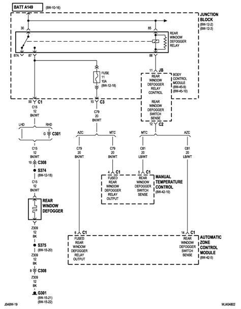 2004 jeep grand door wiring diagram 28 images jeep