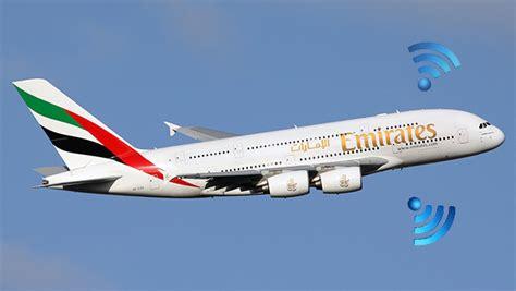 emirates wifi le wi fi gratuit dans les avions de la compagnie