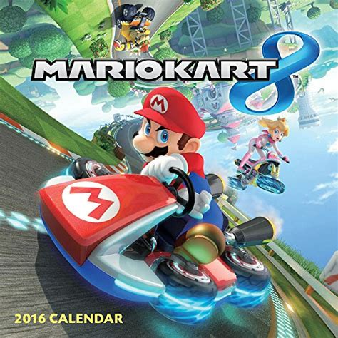 Calendario Kart 2016 Libro Mario Bros 2016 Calendar Di