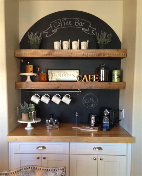Best 25  Coffee nook ideas on Pinterest   Coffee area, Tea station and Coffe bar