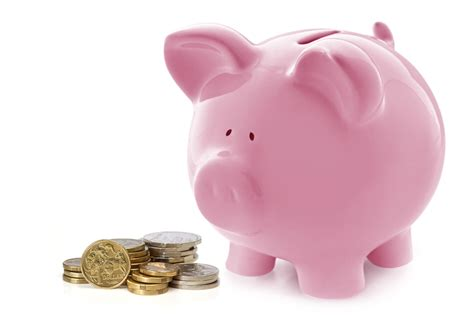 pink piggy bank with money pink piggy bank the todd and erin favorite five