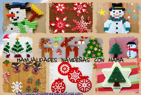 imagenes educativas manualidades navidad manualidades navide 241 as con hama collage imagenes educativas