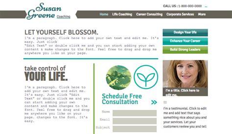 best coaches websites business website templates wix 7