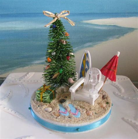 mini desk christmas tree desk top beach christmas tree mini christmas seashell