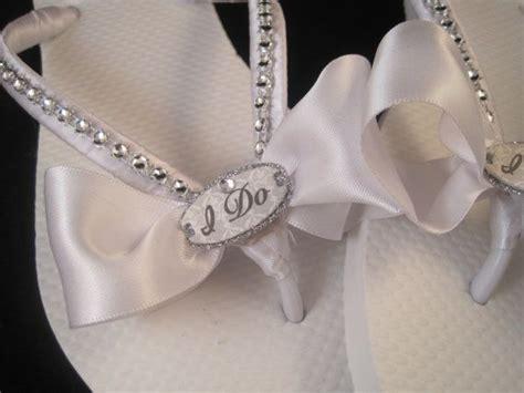 braut flip flops bridal flip flops on pinterest