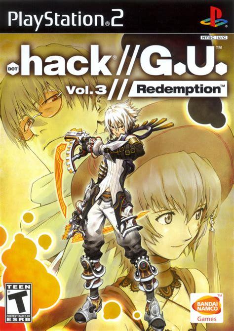 re vol 3 books hack g u vol 3 redemption for playstation 2 2007