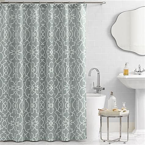 In Shower Curtain - buy vue 174 signature iron gates 72 inch x 84 inch shower curtain from bed bath amp beyond
