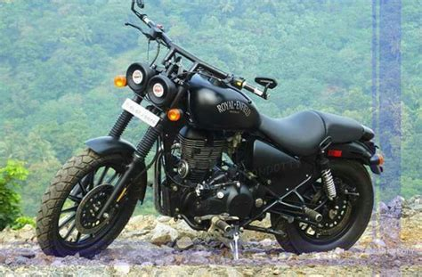 modified bullet classic 350 ride like a gun royal enfield classic 350 consumer