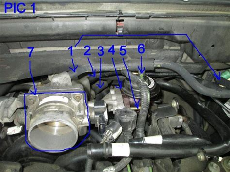 Ford F150 F250 Replace Throttle Position Sensor Tps How To ...