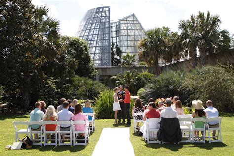 san antonio botanical gardens wedding ceremony at san antonio botanical garden wedding