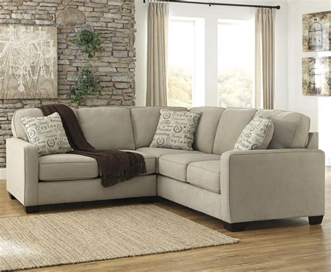 alenya sofa and loveseat ashley signature design alenya quartz 2 piece sectional