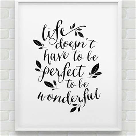 Printable Home Decor by Best Black Wonderful Life Products On Wanelo