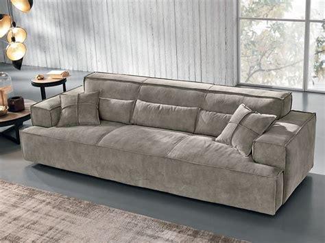 max divani sofa nabuk sofa opla by max divani