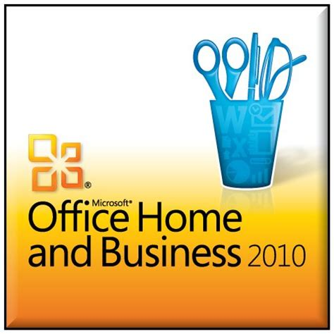 microsoft office home business 2010 2pc 1user one