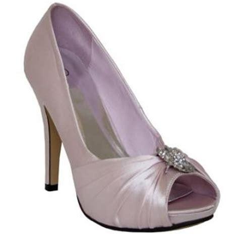 womens light pink satin evening wedding prom peep