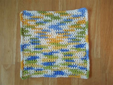 crochet patterns free and easy simple washcloth free crochet pattern