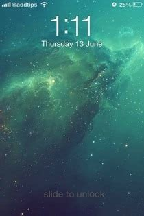 iphone 6 plus lock screen themes get the flat ios 7 look on ios 6 lock screen with this theme