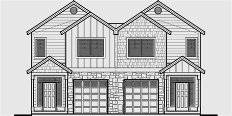 house plans for narrow lots with front garage house plans for narrow lots with front garage